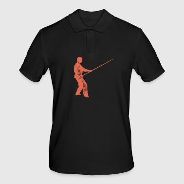 stick fight - Men's Polo Shirt