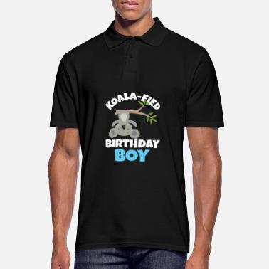Aussie Koalafied Birthday Boy Koala Birthday Party Gift - Men's Polo Shirt