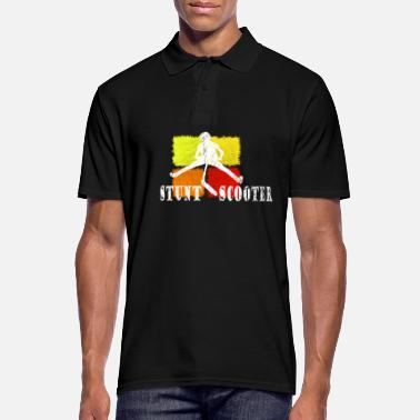 Stunt Stunt Roller Kickboard Stunt Scooter Shirt - Men's Polo Shirt
