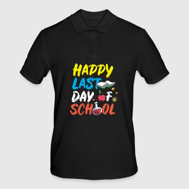 Teacher Last Day of School Summer Vacation - Men's Polo Shirt