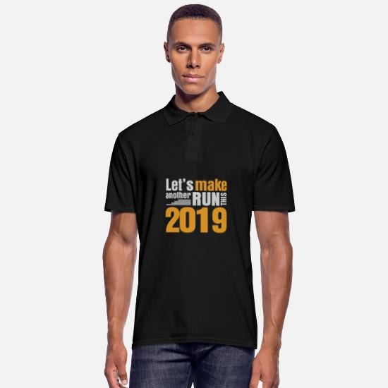 New World Order Polo Shirts - New year new year 2019 new year beer party year - Men's Polo Shirt black