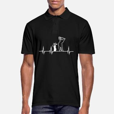 Heartbeat Golf Heartbeat - Men's Polo Shirt