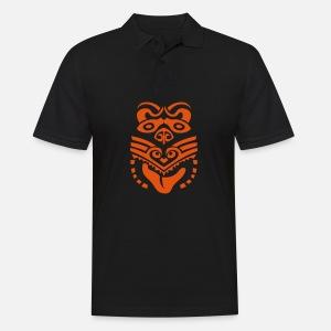 Maori Tribal Tattoo Maske Ethnische Manner Premium T Shirt Spreadshirt