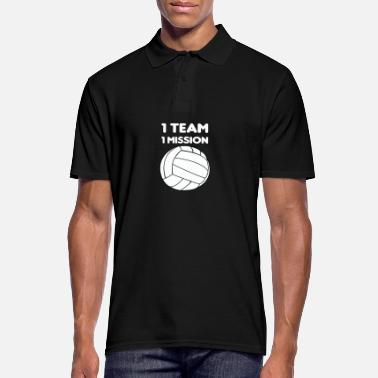 Stage volleyball - Men's Polo Shirt