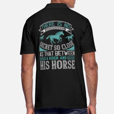 Horse Horse rider sayings - Men's Polo Shirt