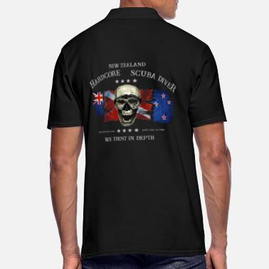 Thailand Diver New Zealand Extreme Diver, New Zealand - Men's Polo Shirt