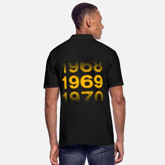 Birthday Polo Shirts - 1969 year of birth - Men's Polo Shirt black
