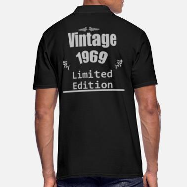50 S Vintage 1969, 50's birthday, vintage gift - Men's Polo Shirt