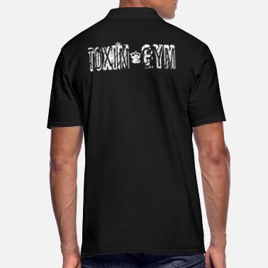 Toxina Camisa de regalo Toxin Gym, Sports, Fitness Workout - Camiseta polo hombre