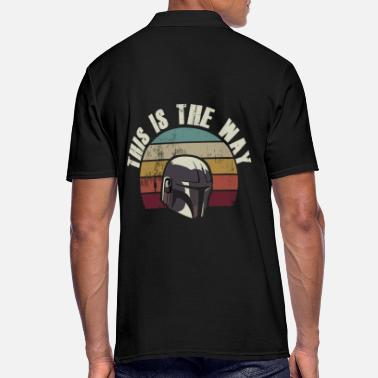This This is the Way - Männer Poloshirt