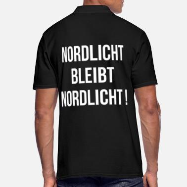 Baltic Sea Northern lights remain northern lights - Men's Polo Shirt