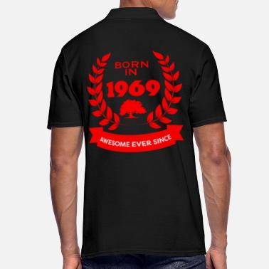 Awesome Since Geboren in 1969 Awesome Ever Since - Mannen poloshirt