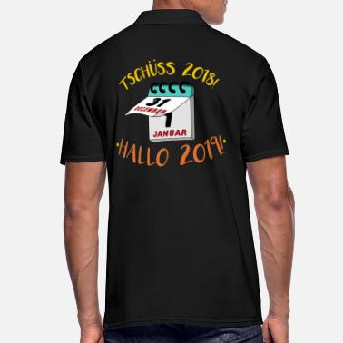 New Year's Day New Year's Eve New Year's Day Funny saying - Men's Polo Shirt
