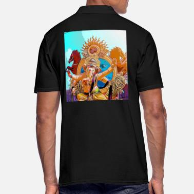 Hindú Hinduismo hindi hindú india arte religión - Camiseta polo hombre