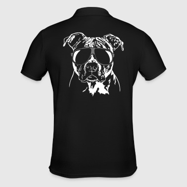 Staffordshire AMERICAN STAFFORDSHIRE TERRIER cool dog dogs - Men's Polo Shirt