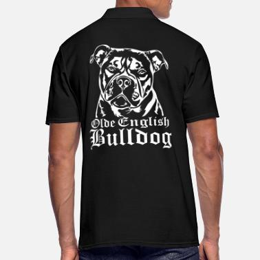 Bulldog Olde English Bulldog - Männer Poloshirt