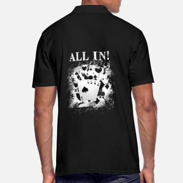 Las Vegas ALL IN - FOUR ACES - Men's Polo Shirt