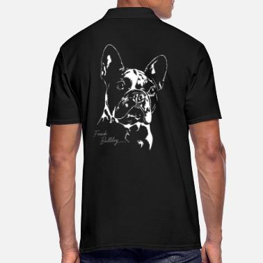 Bulldog FRENCH BULLDOG PORTRAIT - Männer Poloshirt