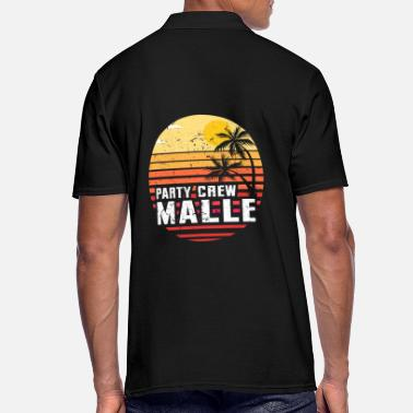Malle party crew - Polo Homme