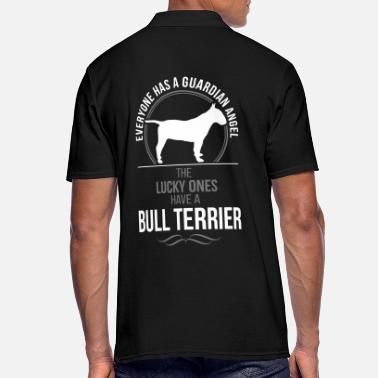 Bull BULL TERRIER Guardian Angel Wilsigns - Men's Polo Shirt