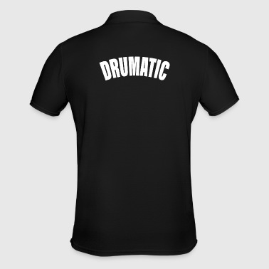Drummer percussion Drumatic - Men's Polo Shirt