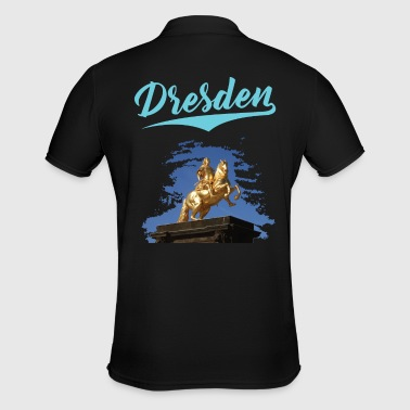 Pretty City of Dresden - Goldener Reiter - Limited Edition - Men's Polo Shirt