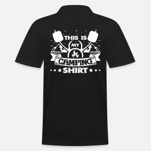 Questa è la mia camicia da campeggio Camping I Camping