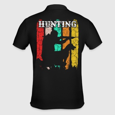 Hunter Hunting Hound Retro Style Vintage Hunting - Men's Polo Shirt