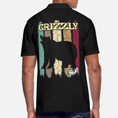 Grizzly Retro grizzly - Polo hombre