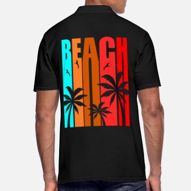 Summer Beach Summer Palm Holiday - Summer Vacation - Men's Polo Shirt