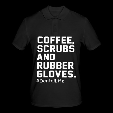 Coffee scrubs and rubber gloves - Men's Polo Shirt