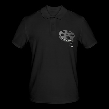 Cinema film reel - Men's Polo Shirt