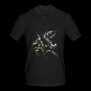 Abstract fighters - Men's Polo Shirt