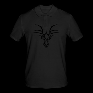 Head dragon # 2 - Mannen poloshirt