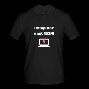 Computer engineering nerd geek error broken repair - Men's Polo Shirt