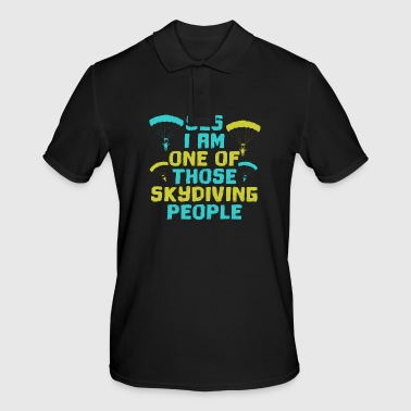 Skydiving skydiving skydiving parachute - Men's Polo Shirt