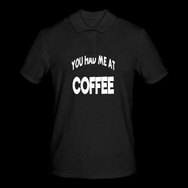 Dites Proverbes Statement Coffee Coffee - Polo Homme
