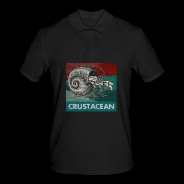 Crab crayfish sea holiday gift - Men's Polo Shirt