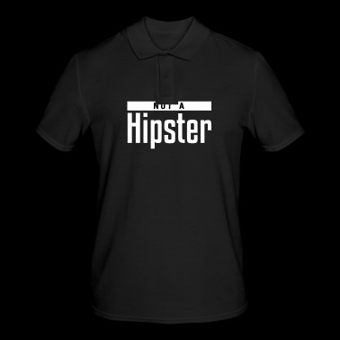 Not a hipster - Men's Polo Shirt