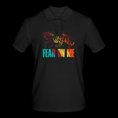 fear on me tiger - Men's Polo Shirt