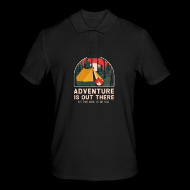 Funny Adventure Bugs Insect Camping Nature Mosquito - Men's Polo Shirt