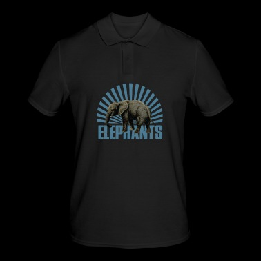 Elephant - mammal - Men's Polo Shirt