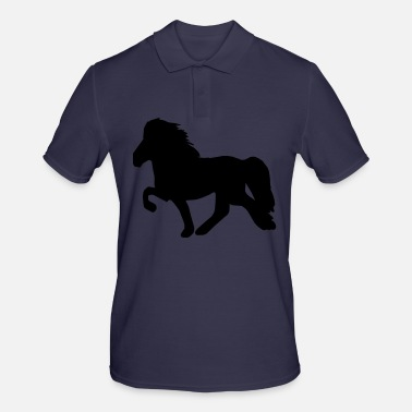 Poney Cheval islandais: Cheval islandais Poney Merch - Polo Homme