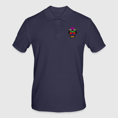Funky FUNKY SKULL - Polo Homme
