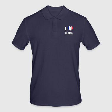 Le Mans I Love LE MANS - Men's Polo Shirt