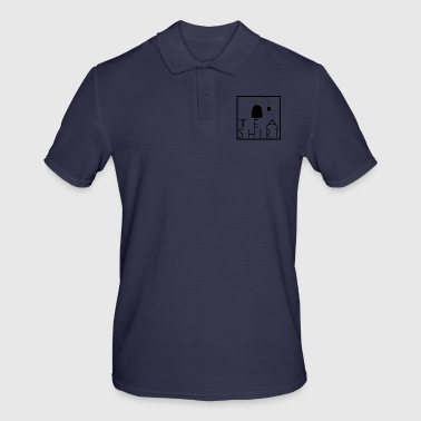 Tea Shirt - Black / Black - Frame / Frame - Men's Polo Shirt