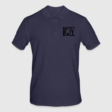 BASket ball - Men's Polo Shirt