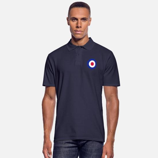 Spitfire Polos - Royal Air Force - Polo Homme bleu marine