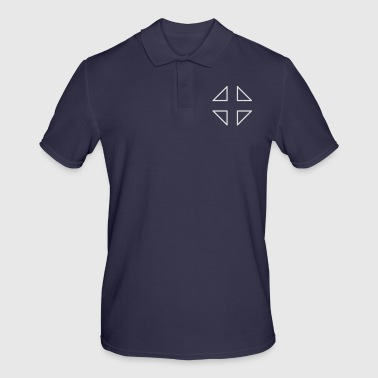Crosshair crosshair fighter triangle triangles - Men's Polo Shirt
