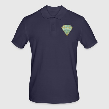 Diamant indie - Polo Homme